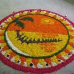 Het Onam-festival in Kerala