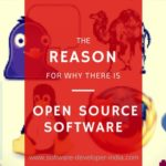 The Reason For Why There Is Open Source Software