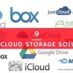 9 Good Cloud Storage Solutions