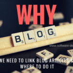 Why We Need To Link Blog Articles And Where To Do It